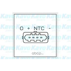 Датчик, давление во впускной трубе (kavo parts) EMS3005