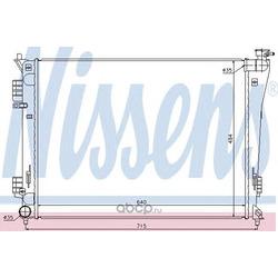 Радиатор, охлаждение двигателя (Nissens) 67550
