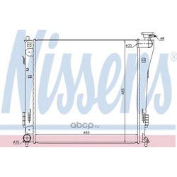 Радиатор, охлаждение двигателя (Nissens) 67551