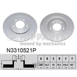 Тормозной диск (Nipparts) N3310521P