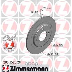 Тормозной диск (Zimmermann) 285352020