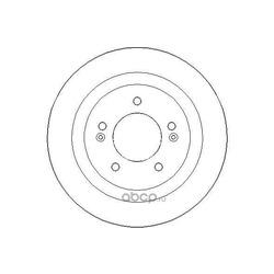 Тормозной диск (NATIONAL) NBD1787