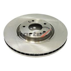 Диск тормозной передний (d=320mm) (KORTEX) KD0445