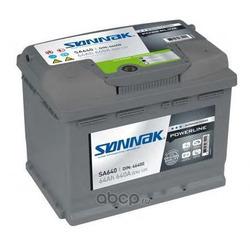 Стартерная аккумуляторная батарея (SONNAK) SA640