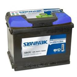 Стартерная аккумуляторная батарея (SONNAK) SB620