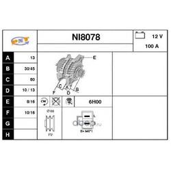 Генератор (SNRA) NI8078