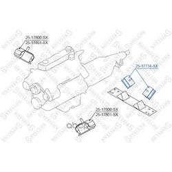 Подвеска, двигатель (Stellox) 2517734SX