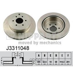 Тормозные диски (Nipparts) J3311048