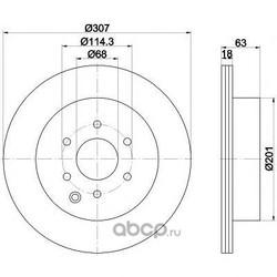 Тормозные диски (Textar) 92181603