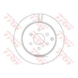 Тормозные диски (TRW/Lucas) DF6289