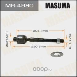 Тяга рулевая (Masuma) MR4980