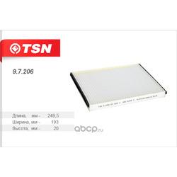 Фильтр салона (TSN) 97206
