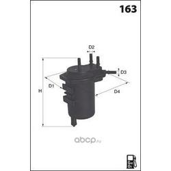 Топливный фильтр (Mecafilter) G69