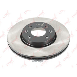 Диск тормозной передний (260x22) (LYNXauto) BN1062