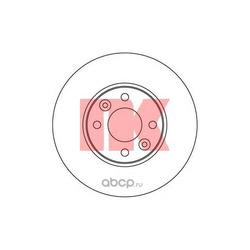 Тормозной диск (Nk) 312264