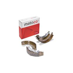 Колодки барабанные (METACO) 3020015