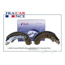 Колодки тормозные барабанные задние (203х38) (Francecar) FCR30B062