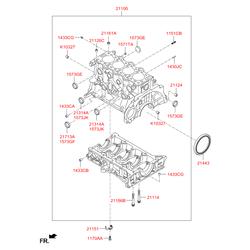 Крышка (Hyundai-KIA) 1573325000