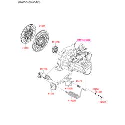 Пыльник (Hyundai-KIA) 4141724000
