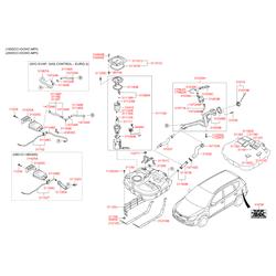 Топливный бак (Hyundai-KIA) 311502L210