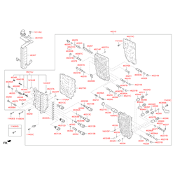 Кронштейн гидрораспределителя АКПП (Hyundai-KIA) 463853B000