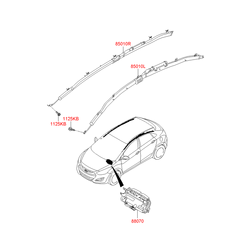 Подушка безопасности в сборе (Hyundai-KIA) 56900A6000RY