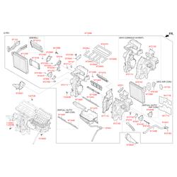 Радиатор отопителя салона (Hyundai-KIA) 97191A5000