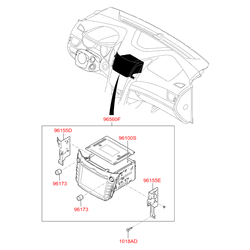 Блок в сборе (Hyundai-KIA) 96560A6010