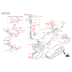 Насос топливный (Hyundai-KIA) 311102L900