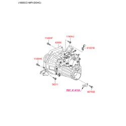 КПП в сборе (Hyundai-KIA) 4300023360