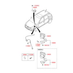 Гидравлический блок АБС (Hyundai-KIA) 589202L300