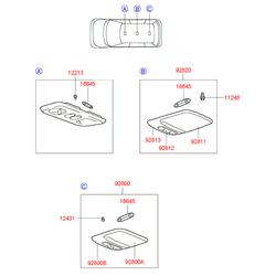 Деталь (Hyundai-KIA) 18645M2000