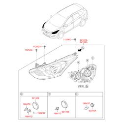 Деталь (Hyundai-KIA) 92101A6200