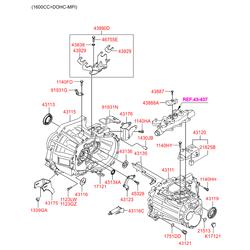 Деталь (Hyundai-KIA) 4311523210
