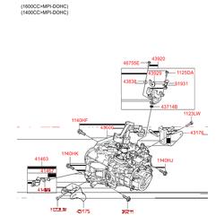 Деталь (Hyundai-KIA) 4300032080