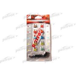 Комплект предохранителей (7.5ax1 10ax3 15ax2 20ax3 30ax1) (PATRON) PFS001