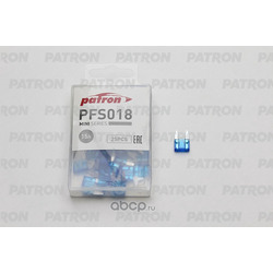 Предохранитель 25шт mini 15a (PATRON) PFS018