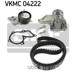 Комплект ремня ГРМ (с помпой) (Skf) VKMC04222