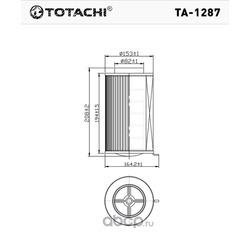 Фильтр воздушный (TOTACHI) TA1287