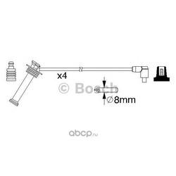 Провода высоковольтные, комплект (Bosch) 0986357208