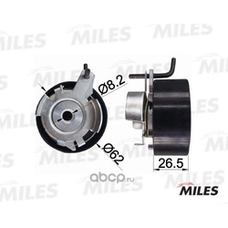 Ролик ремня ГРМ (Miles) AG02009