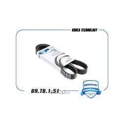 Ремень поликлиновой (BRAVE) BRTB151