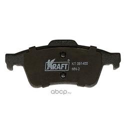 Колодки дисковые задние (с антишумовой накладкой) (Kraft) KT091400