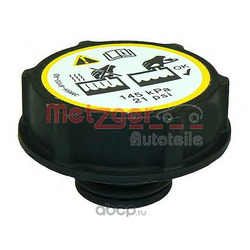 Крышка, резервуар охлаждающей жидкости (METZGER) 2140067