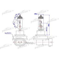 Лампа галогенная (PATRON) PLH111255