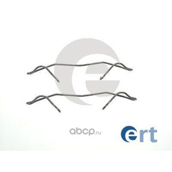 Комплектующие, колодки дискового тормоза (Ert) 420006