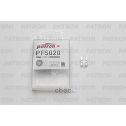 Предохранитель 25шт mini 25a (PATRON) PFS020