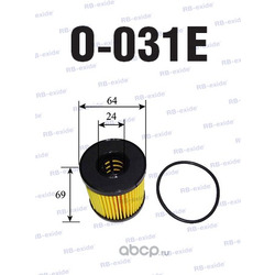 Фильтр масляный (Rb-exide) O031E