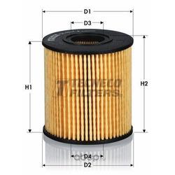 Фильтр масляный (Tecneco) OL010066E