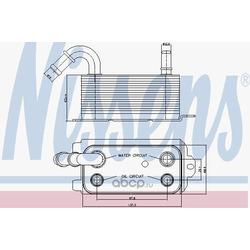 Масляный радиатор, двигательное масло (Nissens) 90661